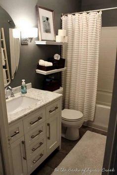 Small bathroom design ideas - which you already recognize - always can affect your mood. A beautiful, clean, and neat bathroom will make you happier and relax every single time you do your business there. In the presence of a comfortable bathroom, you can also relax your muscles after spending such
