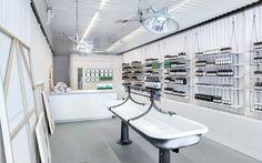 Aesop store design. Sink