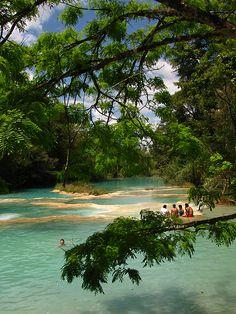 Cataratas de Agua Azul in Chiapas, Mexico