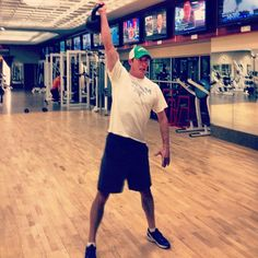 Exercise of the day: kettlebell snatch. 3x10 @ Life Time Fitness - Lakeville  Photo by rsvenby • Instagram
