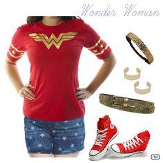Wonder Woman! fashion, casual, Halloween, costume, cosplay