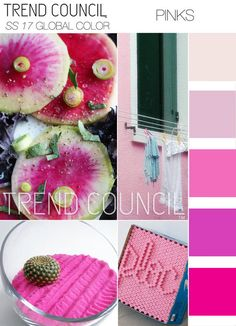 Today's peek at color trends for the Spring Summer 2017 season comes from the Trend Council, a great trend forecasting agency for the fashion industry that provides both analysis and design inspira…