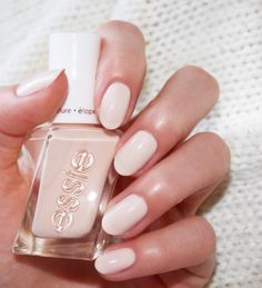 essie gel couture ballet nudes | satin slipper