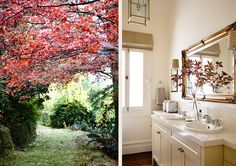 #interiordesign #country #adelaidebragg #design #mtmacedon #bathroom #garden