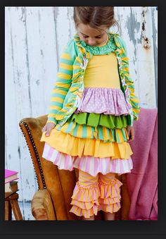 This is too cute for words! Olivia needs this outfit.