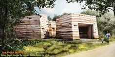 THIRD PRIZE: Ejisu Earth House / Jason Orbe-Smith (USA). Image Courtesy of Nka Foundation