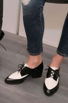 LOVE!!!!    Fall 2015 Shoe Trends: Boots, Sneakers, and Heels From Fashion Week: Glamour.com