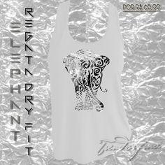 """Regata Fitness de Dry Fit Personalizada """"Elephant"""" Acesse agora:http://goo.gl/XWudcV #trendorfina #peso #haltere #treino #academia #gym #fitgirl #esporte #academia #correr #trend #modafitness #moda #modadeacademia"""