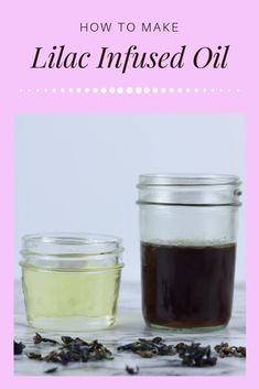 How to make lilac oil. Since there is no lilac essential oil, make a DIY lilac oil with a carrier oi Diy Natural Beauty Recipes, Homemade Beauty Products, Diy Beauty, Beauty Skin, Beauty Ideas, Beauty Tips, Salve Recipes, Beauty Hacks Skincare, Making Essential Oils