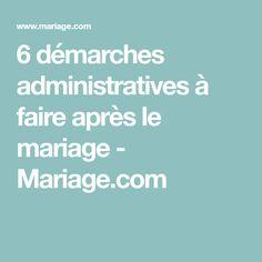 6 démarches administratives à faire après le mariage - Mariage.com