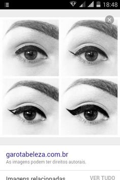 ddab86a09f4c4 Perfect Eyeliner Every Time! - First, you must choose an eyeliner. For a  bold, more defined look, try a liquid or gel liner. We love Kat Von D s  Tattoo ...