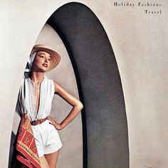 Carolyn Schnurer, photo by Louise Dahl Wolfe, Harper's Bazaar, 1950