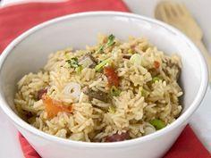 Reispfanne auf kubanische Art ist ein Rezept mit frischen Zutaten aus der Kategorie Reis. Probieren Sie dieses und weitere Rezepte von EAT SMARTER!