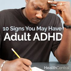 The 10 signs you might be living with adult #ADHD.  Find out the signs here: http://www.healthcentral.com/adhd/c/1443/168089/10-signs-adult-adhd/?ap=2012