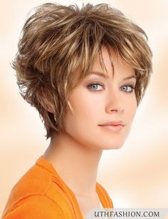 Hairstyles For Middle Aged Women | Thin hairstyles, Women short ...