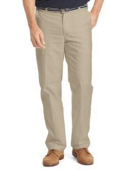IZOD  Belted Newport Oxford Pants