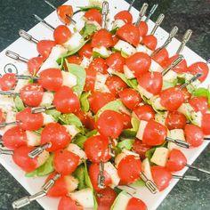 Espetada de Salada Caprese