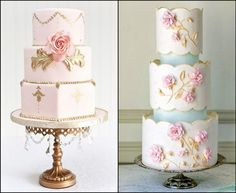 <p>Wedding cakes. Incredible works of art that define the décor of your wedding. Today's wedding cakes are so stunning, that in many cases they are a close second place to the bride herself. Inspired by the theme of the wedding, the bride's gown, and even the bride's wedding shoes (which …</p>