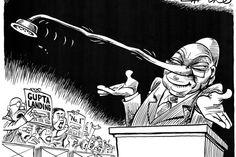 Zapiro: Zuma, the Gupta landing and Number 1 - Mail & Guardian