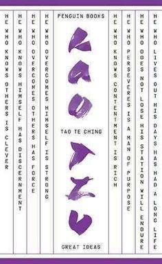 Tao Te Ching (Great Ideas)