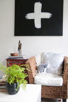 Home in Copenhagen, Denmark - eclectic - living room - Tina Fussell Eclectic Living Room, Living Room Decor, Bedroom Decor, Living Area, Living Rooms, Living Spaces, Interior Decorating, Decorating Ideas, Craft Ideas