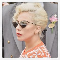 Lady Gaga Daily, Lady Gaga Joanne, Lady Gaga Photos, Julie, Music Artists, Amazing, Sunglasses Women, The Incredibles, Singer