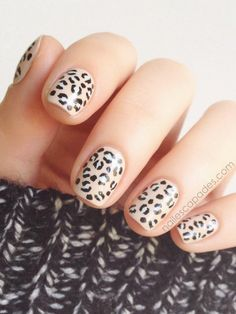 It's easy to trick out your tips with these funky patterns.