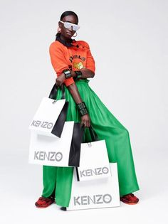 Explore fashion retailer H&M's Kenzo collaboration here, for an exclusive look at the pieces.