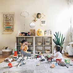 Toddler Play Area, Toddler Playroom, Playroom Design, Playroom Ideas, Indoor Slides, Basement Layout, Home Daycare, Flex Room, Kid Spaces