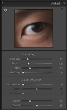 In this video from our Lightroom 4 A to Z Workshop on DVD, we will go over the Sharpening settings in the Detail Panel in Lightroom 4. The Detail Panel also includes settings for Noise Reduction, but we will go over those settings in the next article. Sharpening adds noise to an image and noise is the grainy look that can appear in your images. When you sharpen an image, it will increase the noise in the overall image because the Sharpening effect is sharpening each individual grain. In this…
