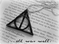 Deathly Hallows - necklace by ApoAddicted.deviantart.com on @deviantART