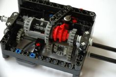 2 speed gearbox with integrated differential: A LEGO® creation by Andrew Knight : MOCpages.com