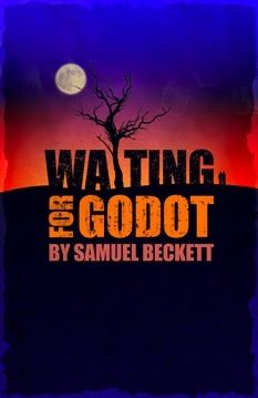 """I chose this simple picture of the title of the play to emphasize on the name """"Godot."""" According to our textbook, there are several origins of the word Godot. First, Godeau is the name of an absent character in a Balzac novel. The word Godot also simply translates to the French word of boot. Finally, there is also the representation of Godot being God."""