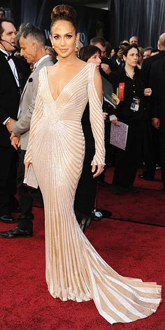 Jennifer Lopez (click here for all the Oscars fashion)