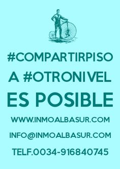 Albasur Inmobiliaria donde #compartirpiso a #otronivel es posible ;^)