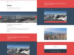 Swiss is a clean and minimal Tumblr template designed with Photoshop. Free PSD released by Niall MacFarlane.