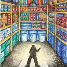#Prepper #FoodStorage - Where to Hide Your Food (And a Few Places You Shouldn't)