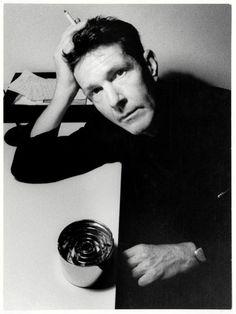 John Cage (1912-1992) - American composer, music theorist, writer, and artist. Photo by Ugo Mulas