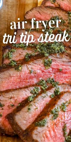 Tri Tip Steak Recipes, Beef Tri Tip, Beef Tips, Beef Recipes, Instant Pot Tri Tip Recipe, Broiled Lobster Tails Recipe, Easy Baked Pork Chops, Slow Cooker Italian Beef, Chicken Wing Recipes