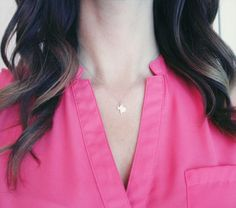 Silver Texas Necklace | Sterling Silver Texas State Charm Necklace
