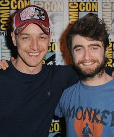 Daniel Radcliffe and James McAvoy delivered HILARIOUS dish about the making of their new film at Comic Con