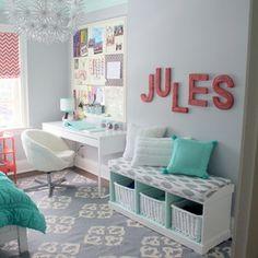 Pretty Tween Bedroom - contemporary - kids - toronto - Sarah Gunn, Interior Stylist