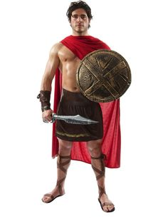 Mens Roman Spartan Greek Gladiator Warrior Fancy Dress Costume | Ropa, calzado y complementos, Disfraces y ropa de época, Disfraces | eBay!