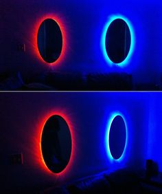 Portal mirrors. (Inspired by Portal and Portal2, the game)
