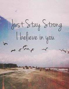 If you ever need someone to talk too I'm a message away! Stay strong cause I believe in you! :-)