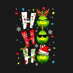 Merry christmas santa grinch ho ho ho funny The Grinch Shirt - Santa Grinch Ho Ho Ho Funny The Grinch - T-Shirt Grinch Christmas Decorations, Merry Christmas Santa, Christmas Mood, Christmas Humor, Christmas Wishes, Holiday Fun, Christmas Crafts, Christmas Phone Wallpaper, Holiday Wallpaper