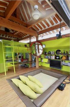 My video game room for my future house :D Future House, Dream Rooms, Dream Bedroom, Awesome Bedrooms, Coolest Bedrooms, Cool Boys Bedrooms, Bedroom Ideas For Teen Boys, Cool Bedroom Ideas, House Goals