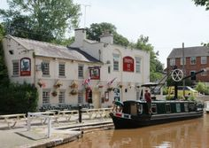 The border #village of #Audlem a #lively place to live. The Shroppie Fly by the Shropshire Union Canal at  Audlem Mill.