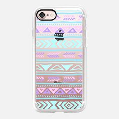 Pastel Tribals - iPhone 7 Classic Grip Case