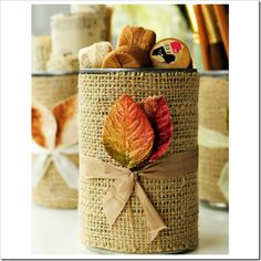 Autumn leaf project
